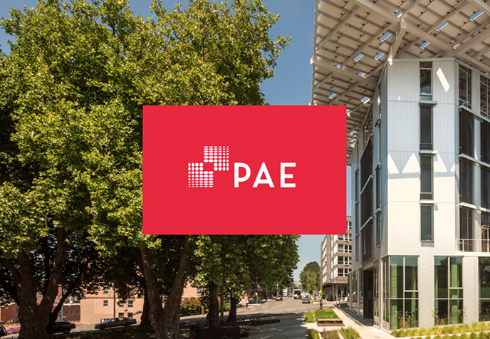 PAE Engineers website screenshot