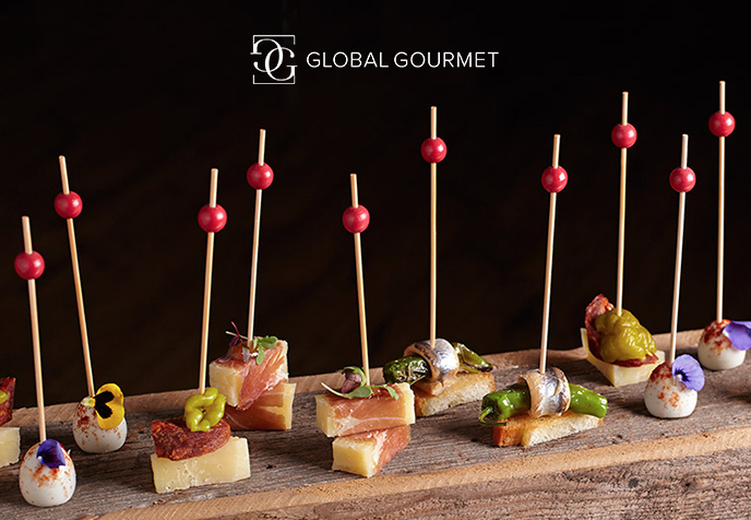 Global Gourmet website screenshot
